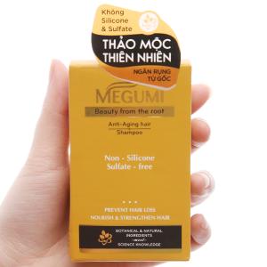 Dầu gội ngăn rụng tóc Megumi thảo mộc thiên nhiên 9g x 5 gói