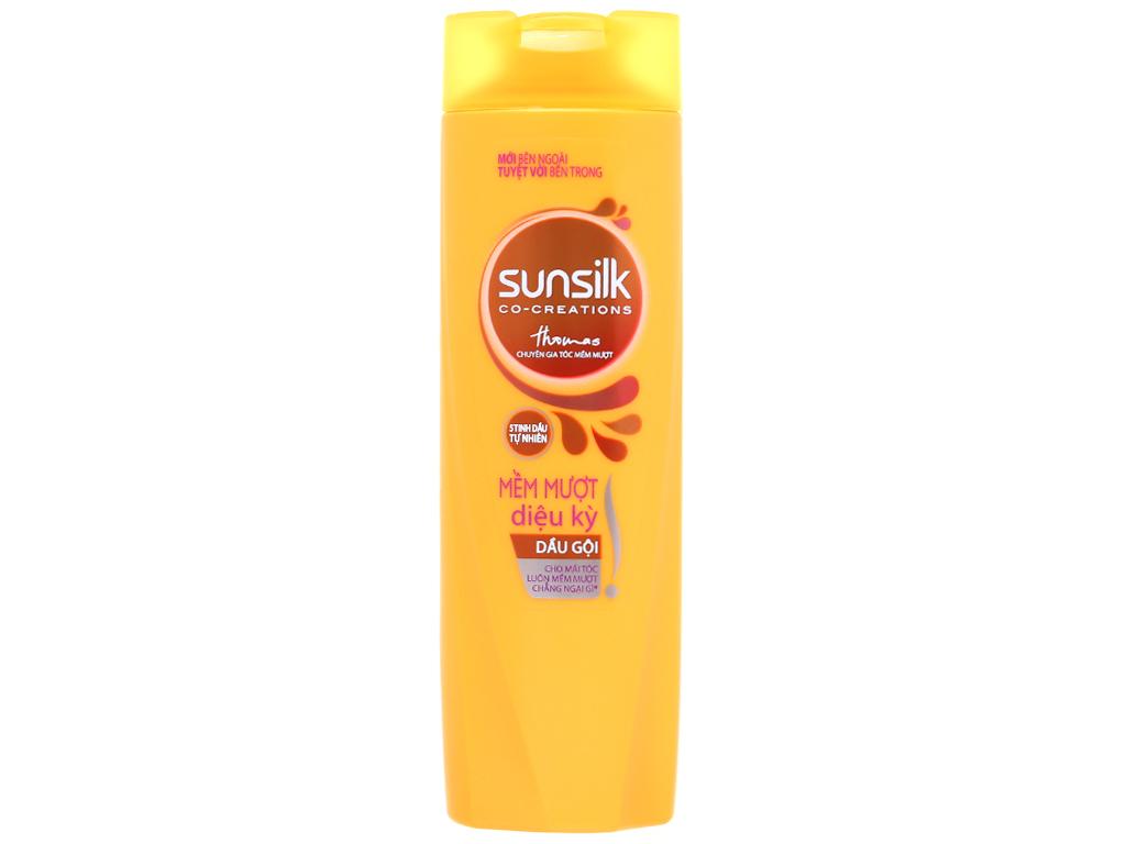 Bộ dầu gội và dầu xả Sunsilk mềm mượt diệu kỳ 165ml 3