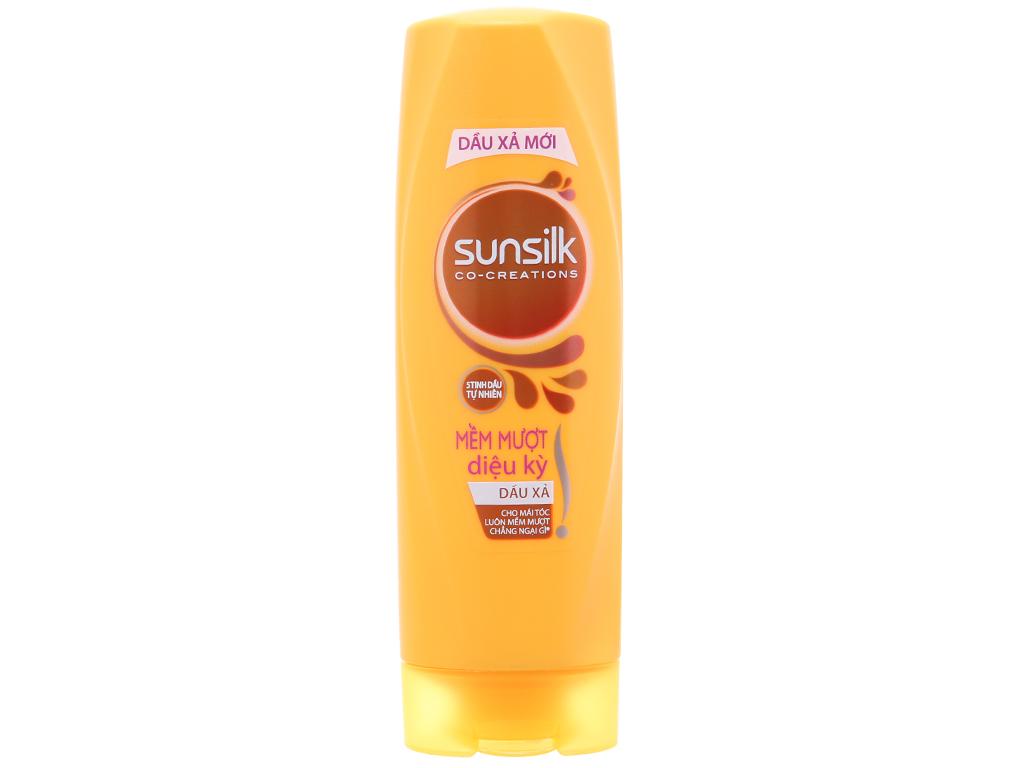 Bộ dầu gội và dầu xả Sunsilk mềm mượt diệu kỳ 165ml 5