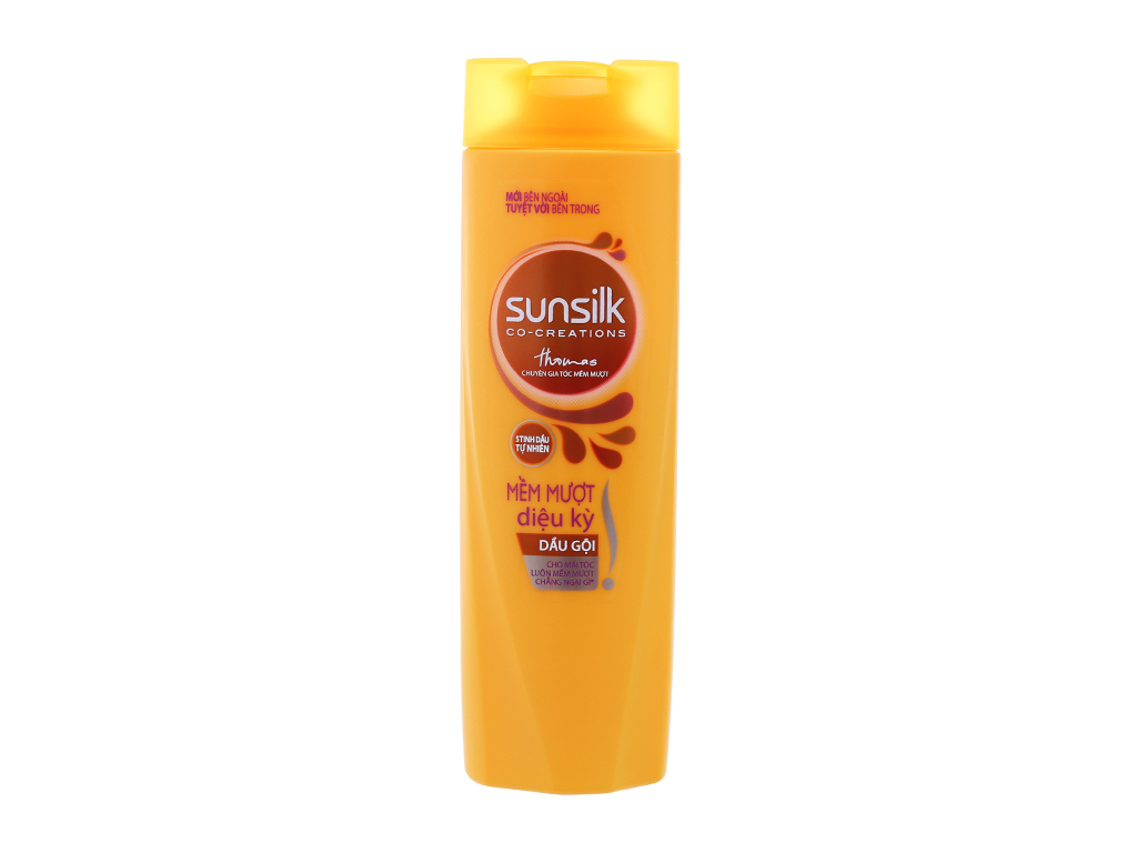 Bộ dầu gội xả Sunsilk mềm mượt diệu kỳ dịu nhẹ 170g 3