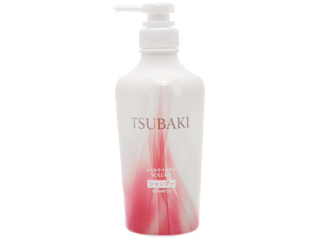 Dầu gội bồng bềnh chắc khoẻ Tsubaki 450ml 1