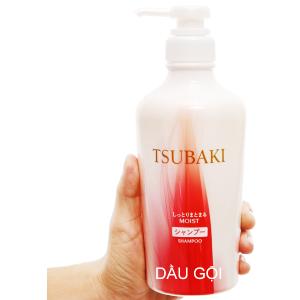 Dầu gội dưỡng ẩm và giữ nếp Tsubaki 450ml