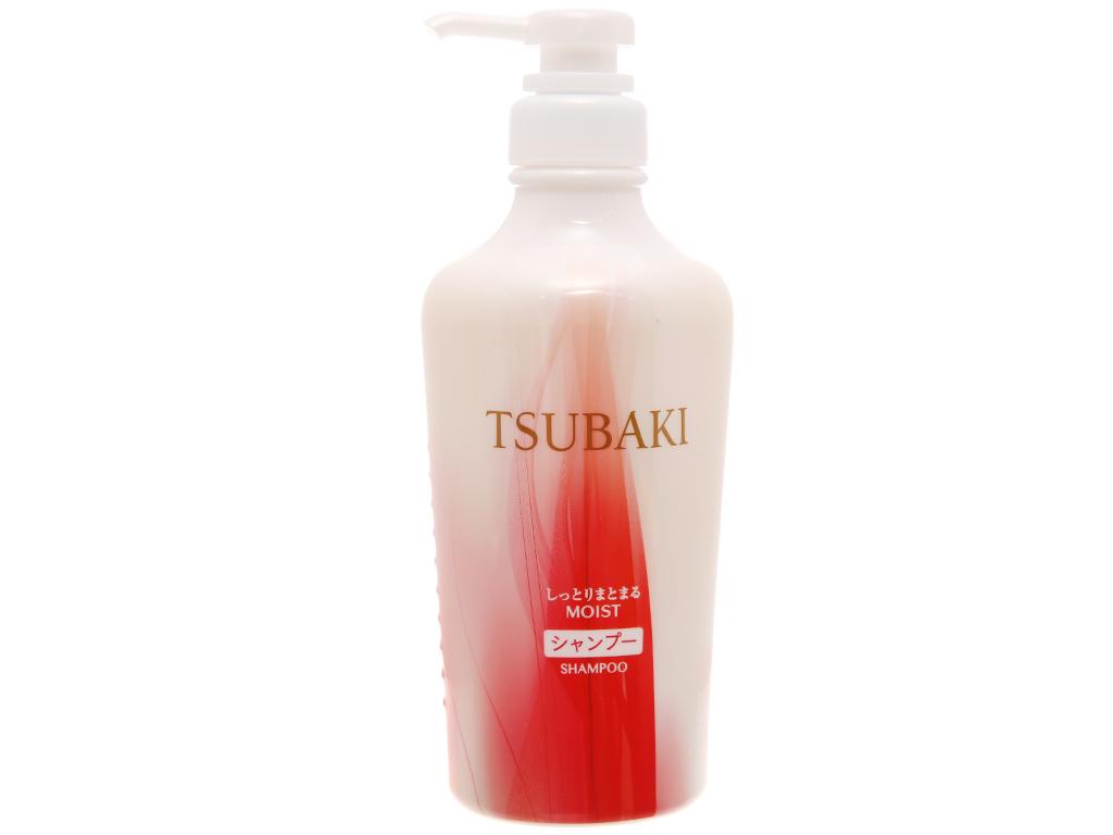 Dầu gội dưỡng ẩm và giữ nếp Tsubaki 450ml 1