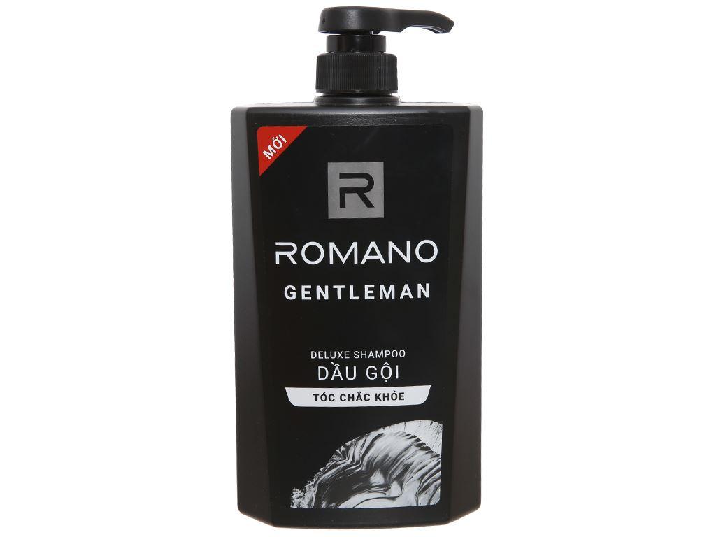 Dầu gội hương nước hoa Romano Gentleman 650g 1