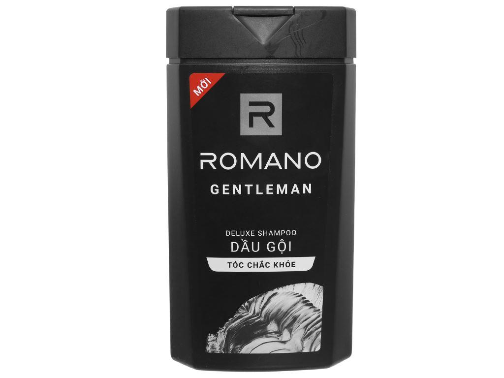 Dầu gội hương nước hoa Romano Gentleman tóc chắc khoẻ 380g 2