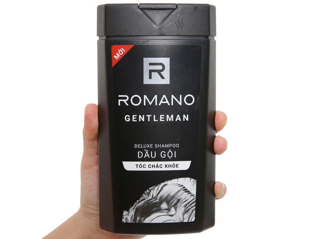 Dầu gội hương nước hoa Romano Gentleman tóc chắc khoẻ 380g 3
