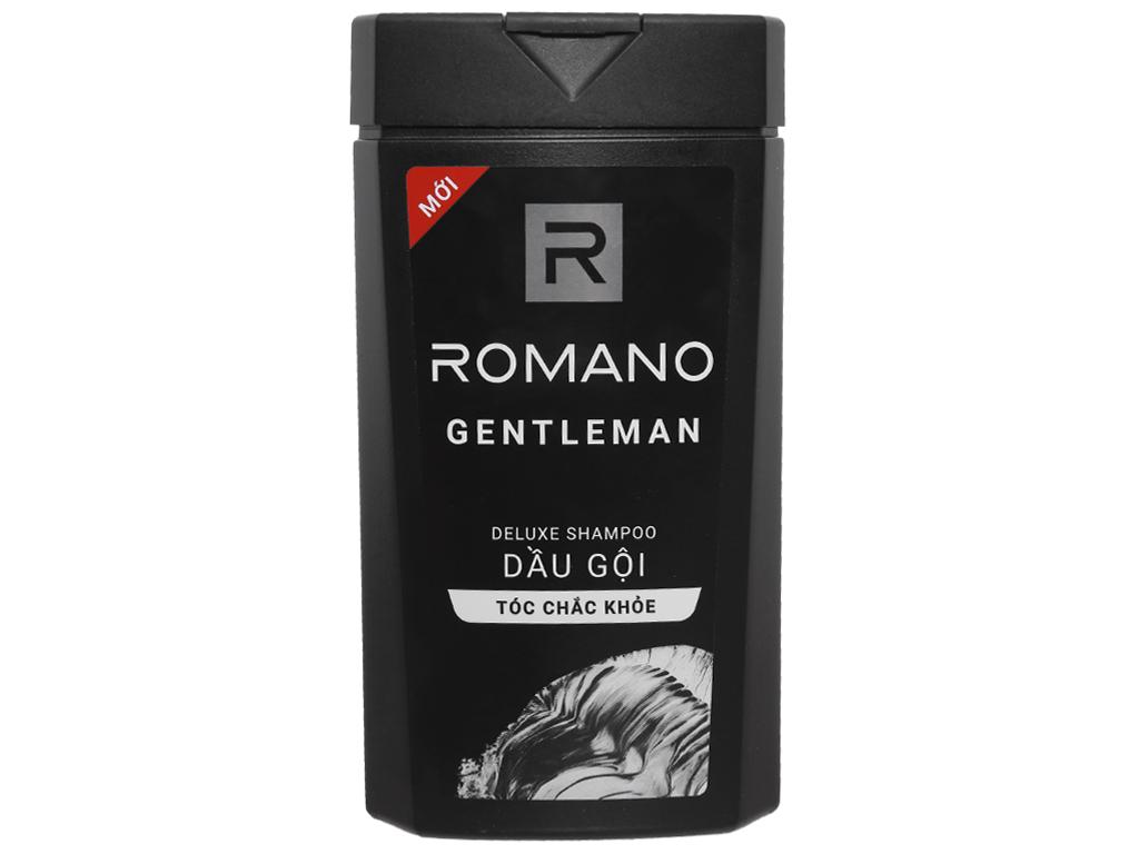 Dầu gội hương nước hoa Romano Gentleman tóc chắc khoẻ 180g 1