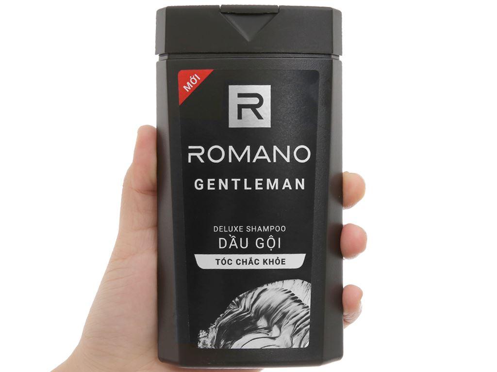 Dầu gội hương nước hoa Romano Gentleman tóc chắc khoẻ 180g 4