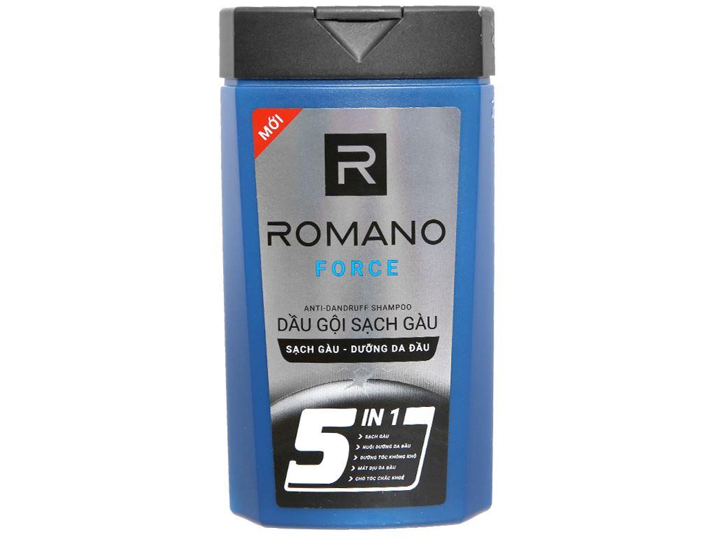 Dầu gội sạch gàu Romano Force 180g 1
