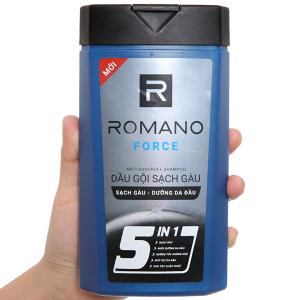 Dầu gội sạch gàu Romano Force 380g