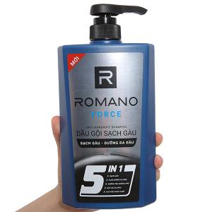 Dầu gội sạch gàu Romano Force 650g