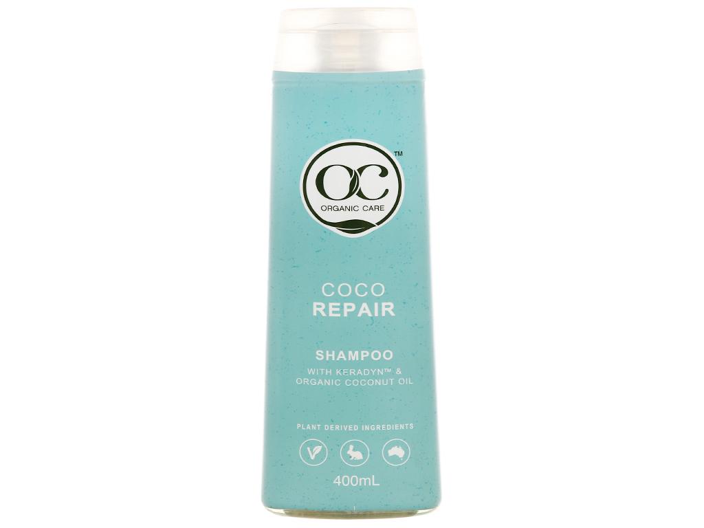 Dầu gội phục hồi hư tổn Organic Care Coco Repair 400ml 1