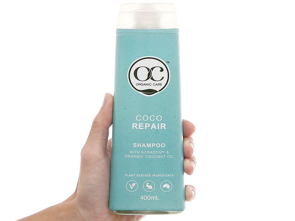 Dầu gội phục hồi hư tổn Organic Care Coco Repair 400ml 4