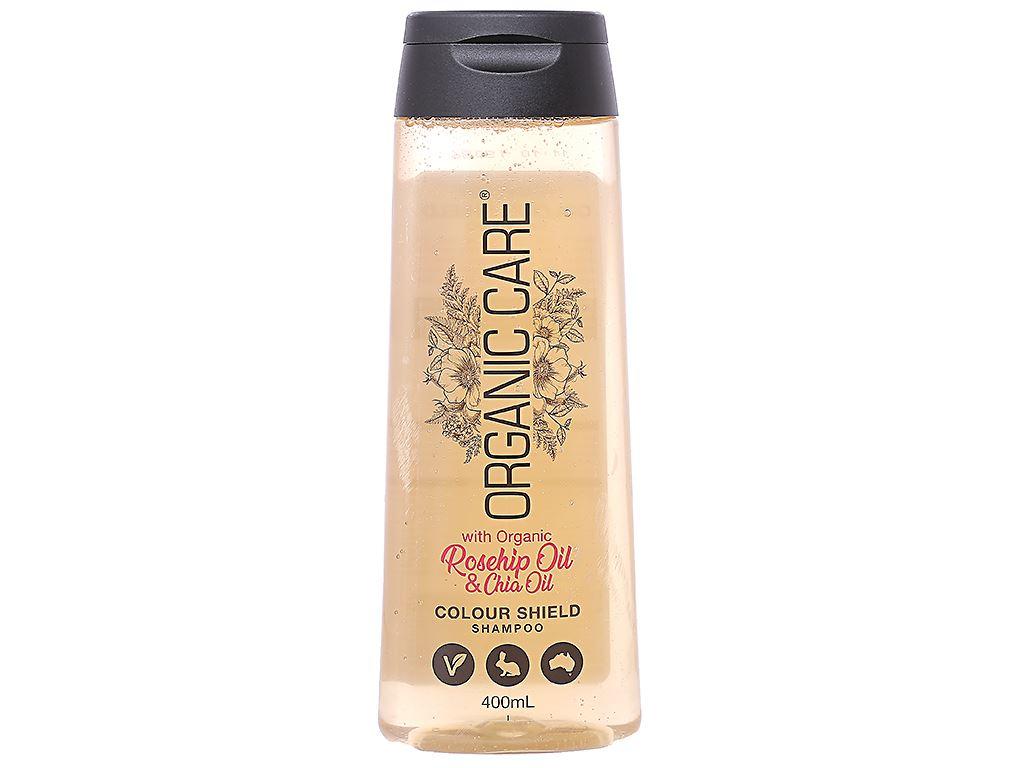 Dầu gội dành cho tóc nhuộm Organic Care Colour Shield 400ml 1