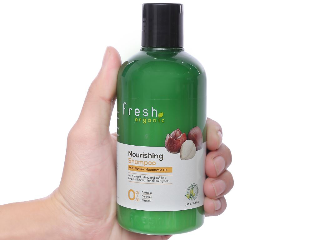 Dầu gội từ hạt Macca Fresh Organic 250g 5