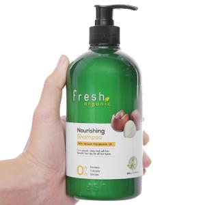 Dầu gội từ hạt Macca Fresh Organic 500g