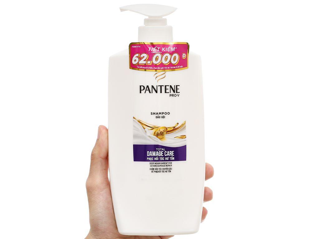 Dầu gội Pantene phục hồi hư tổn 900ml 5