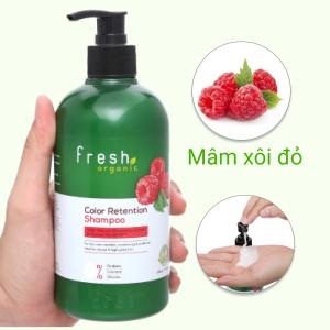 Dầu gội Fresh Organic giữ màu tóc nhuộm 500g