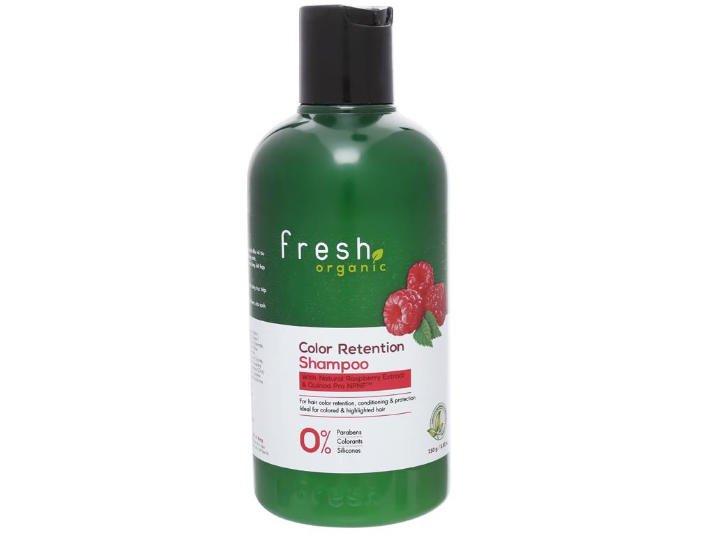 Dầu gội Fresh Organic giữ màu tóc nhuộm 250g 1