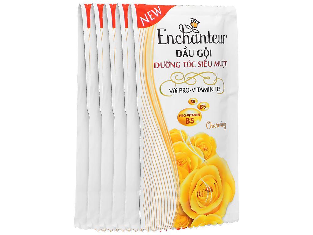 Dầu gội dưỡng tóc siêu mượt Enchanteur Charming 6g x 10 gói 1