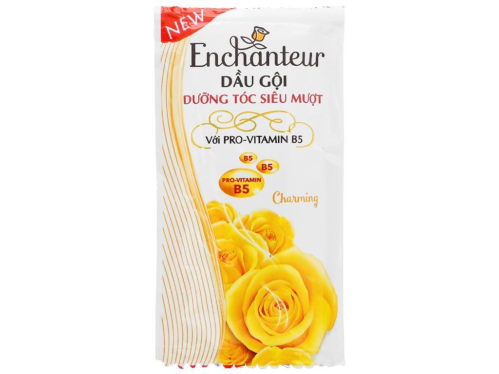 Dầu gội dưỡng tóc siêu mượt Enchanteur Charming 6g x 10 gói 2