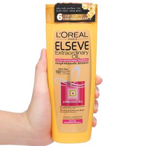 Dầu gội dưỡng tóc L'Oréal Elseve tinh dầu hoa 330ml