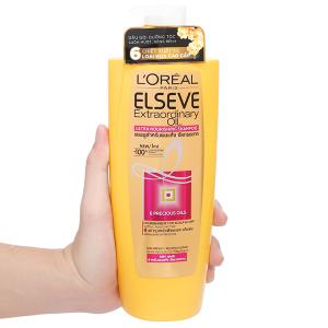 Dầu gội dưỡng tóc L'Oréal Elseve tinh dầu hoa 650ml