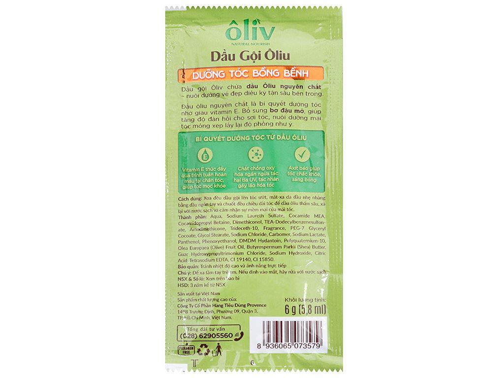 Dầu gội Ôliv dưỡng tóc bồng bềnh 5.8ml x 12 gói 3
