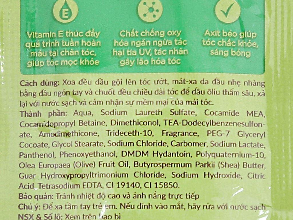 Dầu gội Ôliv dưỡng tóc bồng bềnh 5.8ml x 12 gói 4