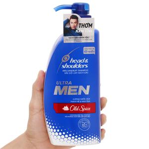 Dầu gội sạch gàu Head & Shoulders Ultra Men Old Spice hương nước hoa 650ml