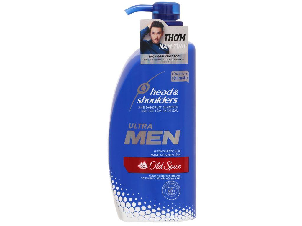 Dầu gội sạch gàu Head & Shoulders Ultra Men Old Spice hương nước hoa 650ml 1