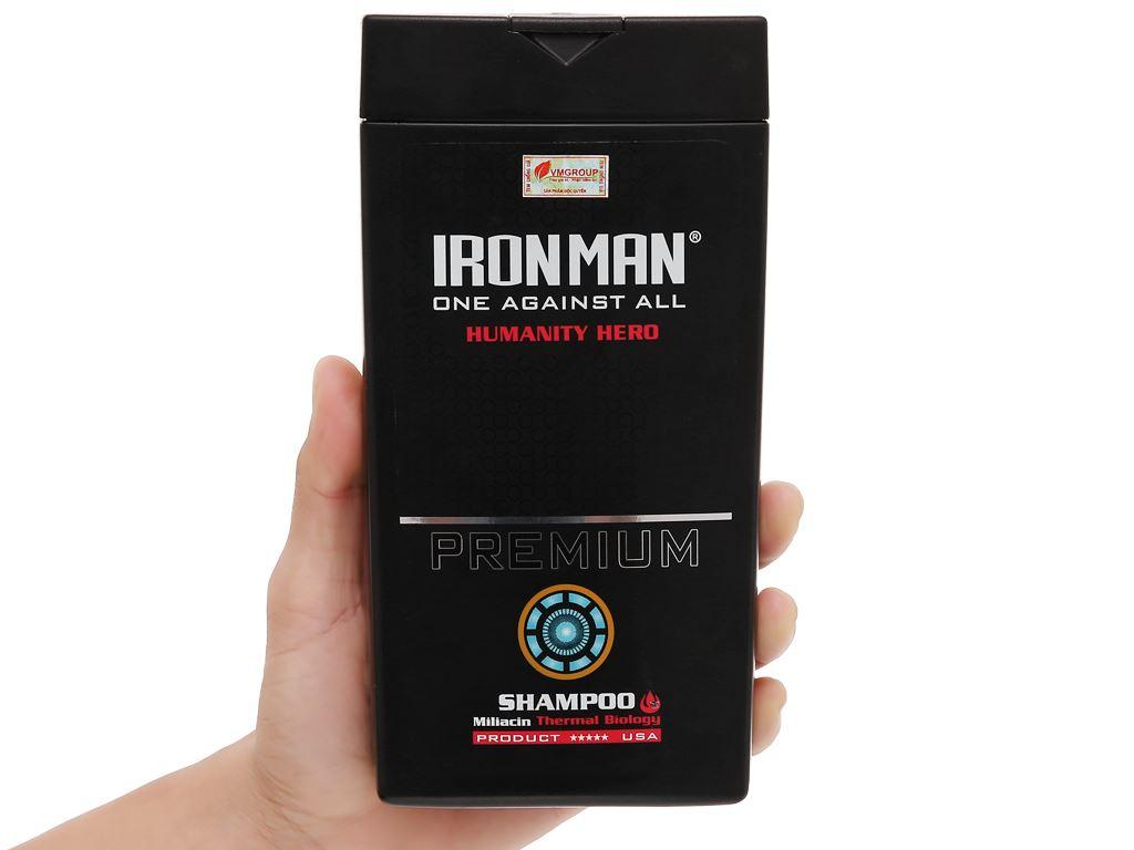 Dầu gội nhiệt sinh học Ironman Premium Humanity Hero 380g 4