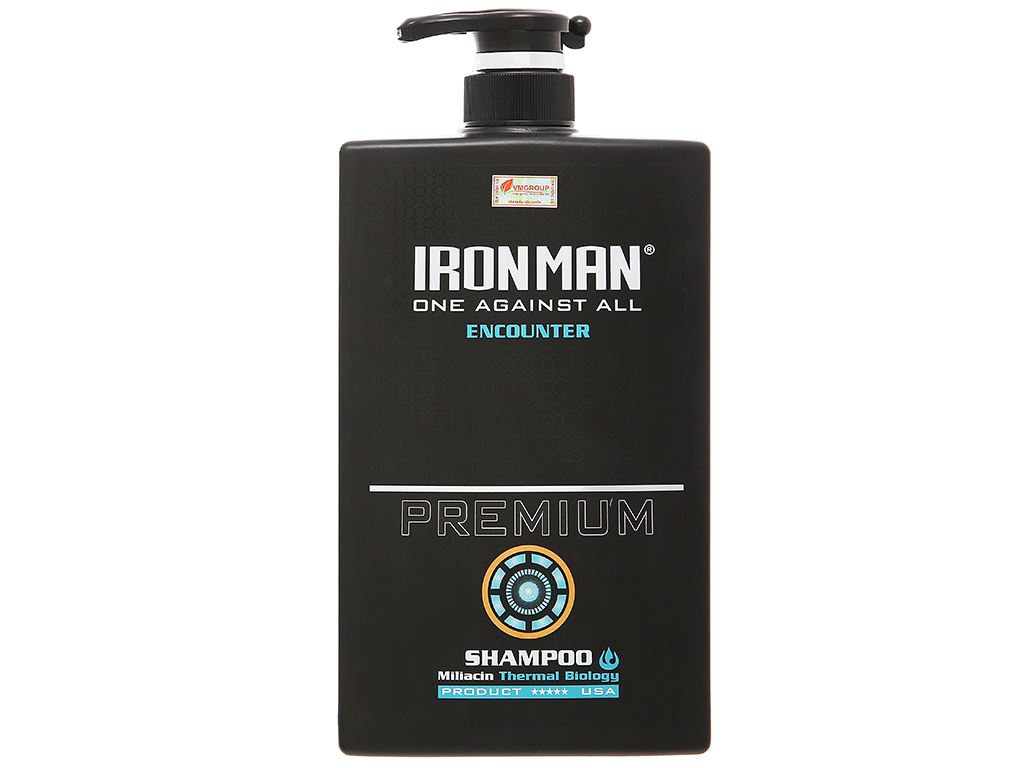Dầu gội nhiệt Ironman Encounter 650g 1