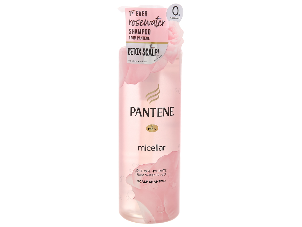 Dầu gội Pantene chiết xuất nước hoa hồng 530ml 1