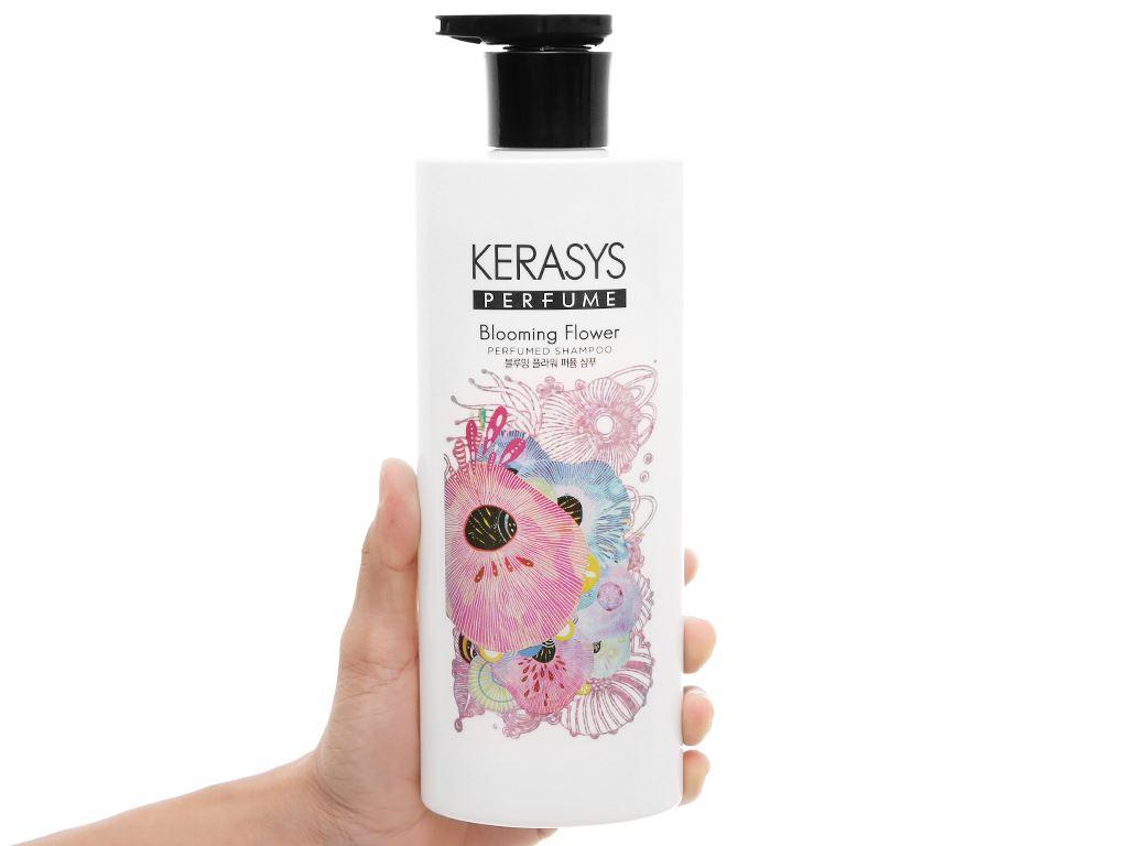 Dầu gội Kerasys Perfume Blooming Flower 600ml 4