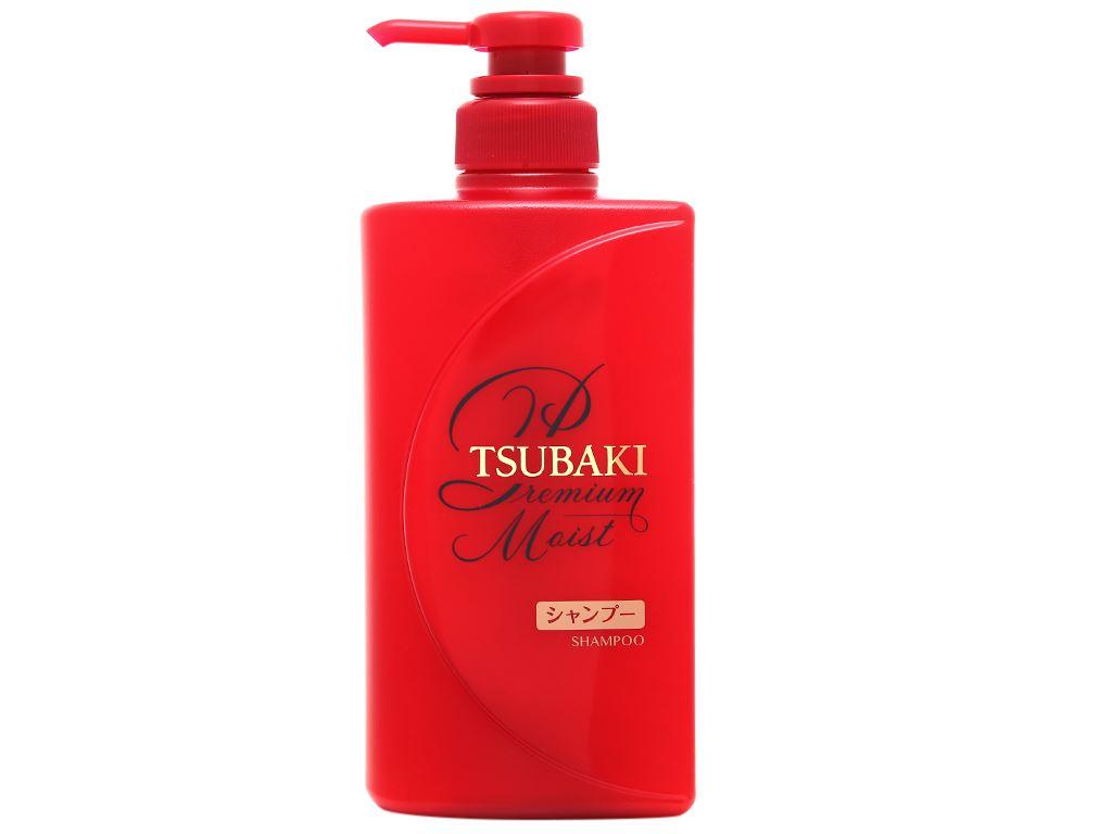 Dầu gội Tsubaki dưỡng tóc bóng mượt 490ml 1
