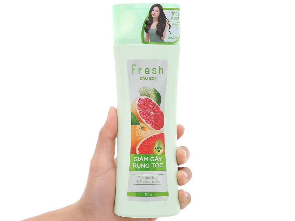 Dầu gội Fresh tinh dầu bưởi giảm rụng tóc 320g 4