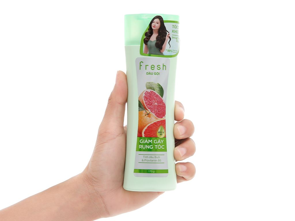 Dầu gội Fresh tinh dầu bưởi giảm rụng tóc 170g 4
