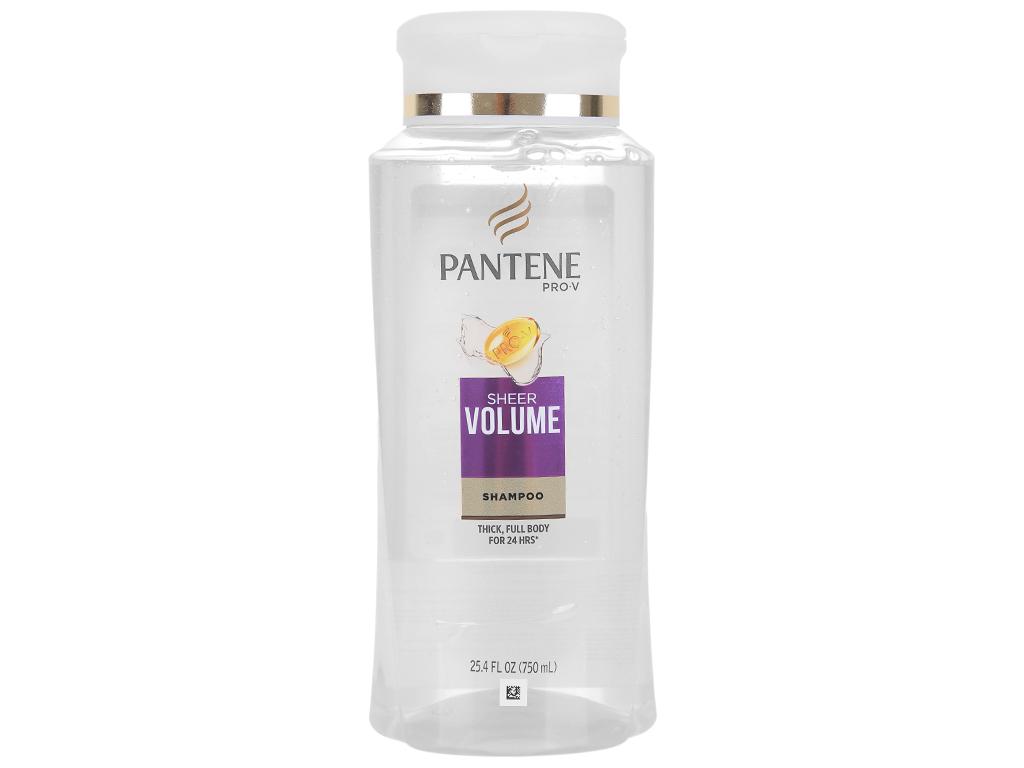 Dầu gội Pantene Pro-V Sheer Volume 750ml 1