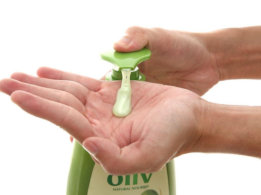 Dầu gội ôliu Ôliv dưỡng tóc chắc khoẻ 1 lít 5