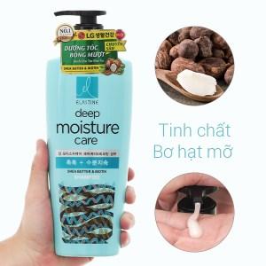 Dầu gội Elastine Deep Moisture dưỡng tóc bóng mượt 550ml