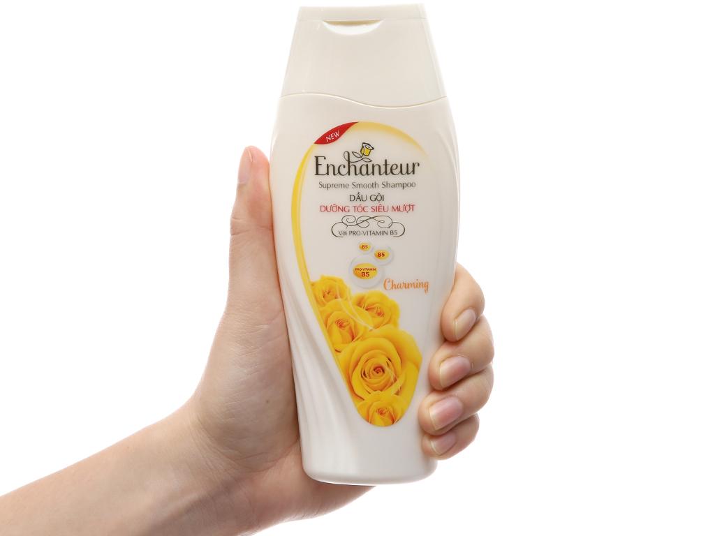 Dầu gội Enchanteur Charming dưỡng tóc siêu mượt nước hoa quyến rũ 180g 4