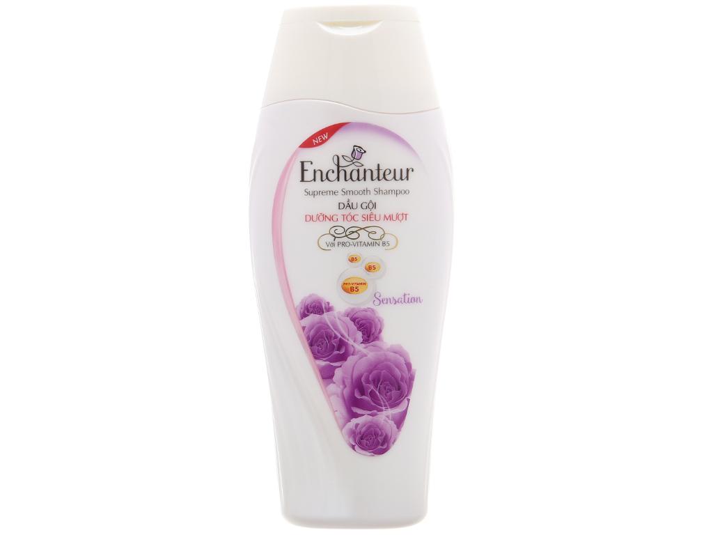 Dầu gội dưỡng tóc siêu mượt Enchanteur Sensation 180g 2