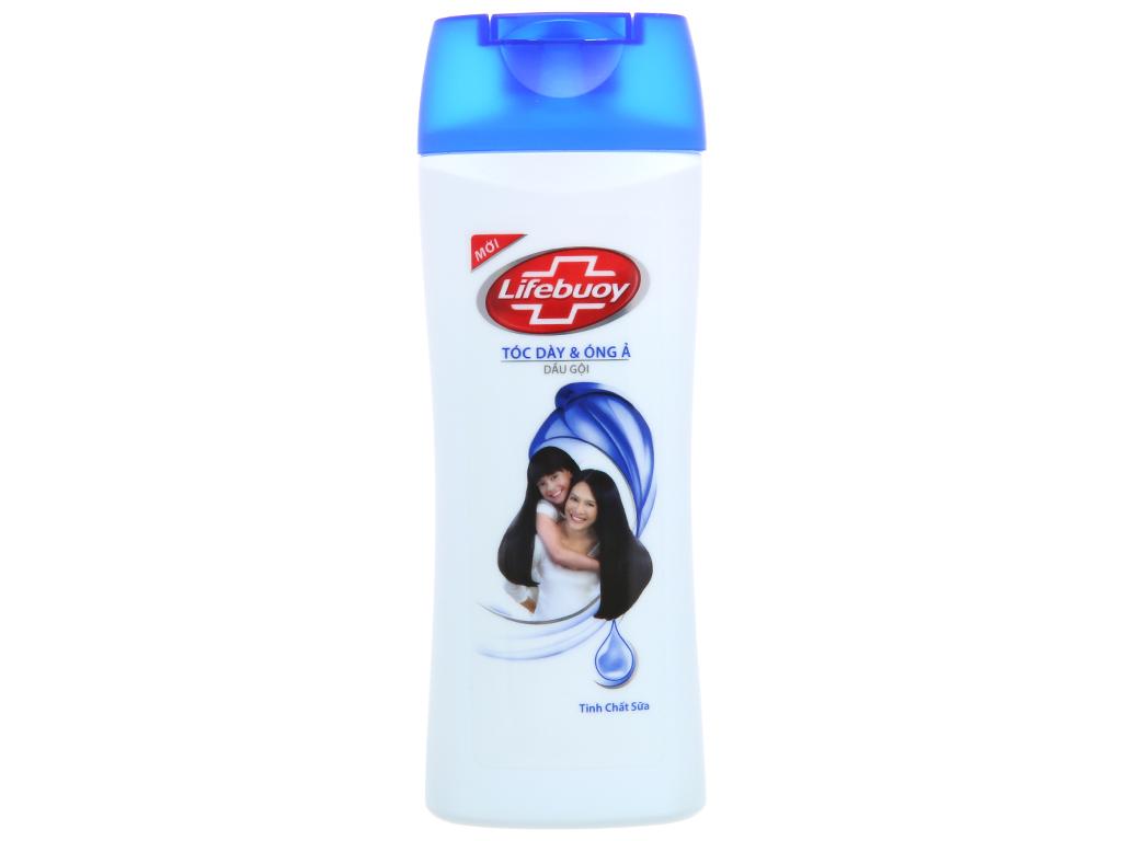 Dầu gội Lifebuoy tóc dày & óng ả tươi mát, dịu nhẹ 170g 2
