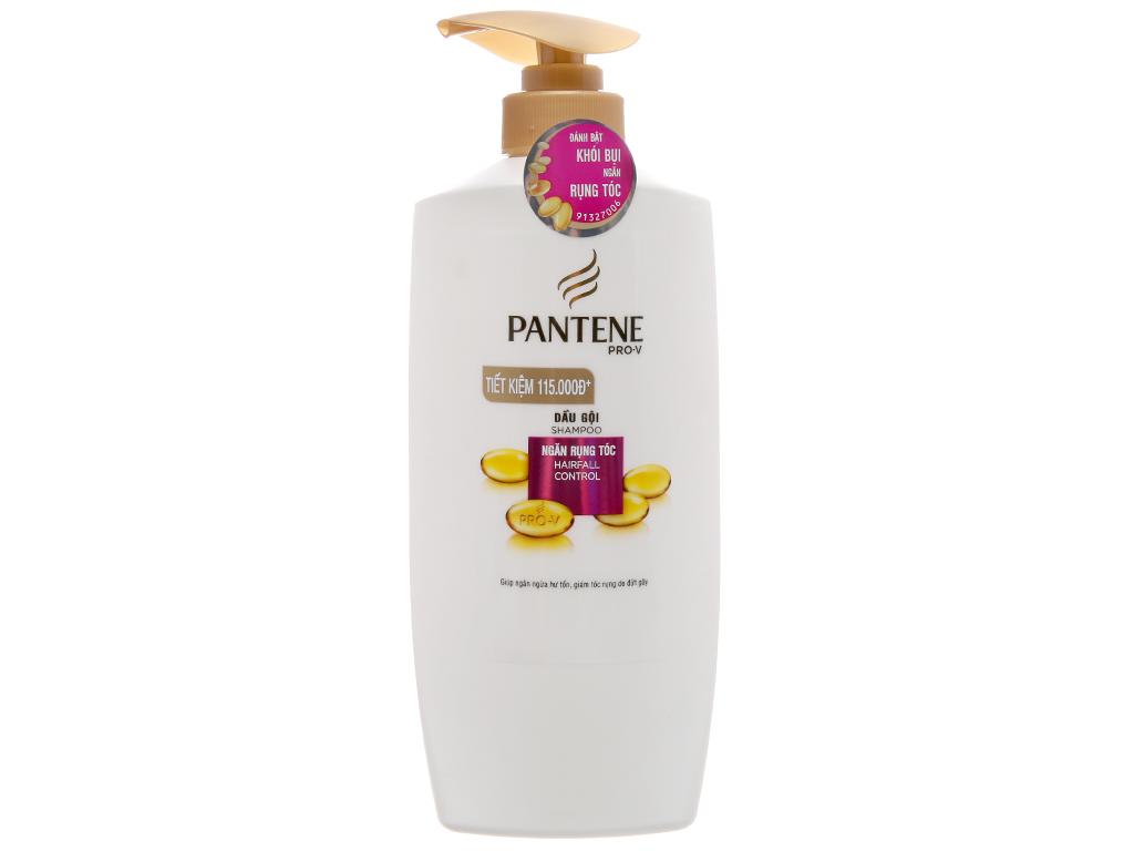 Dầu gội Pantene ngăn rụng tóc dịu nhẹ 670g 2
