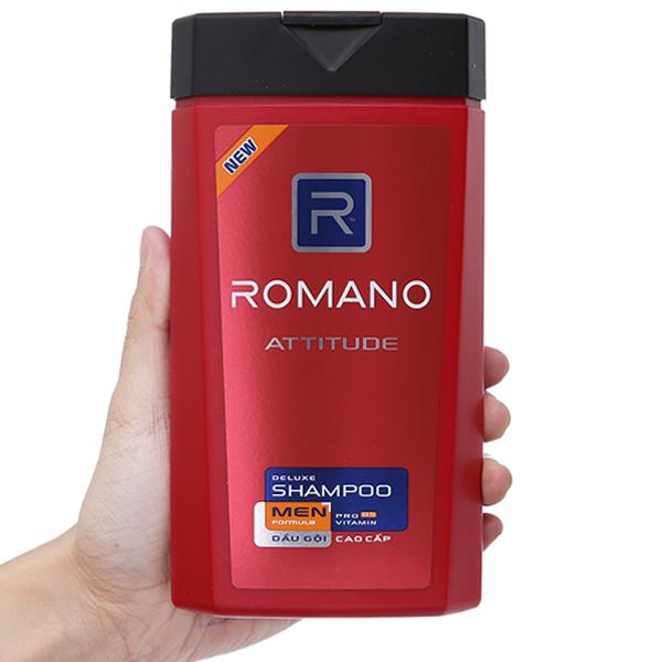 Dầu gội cao cấp Romano Attitude 380g