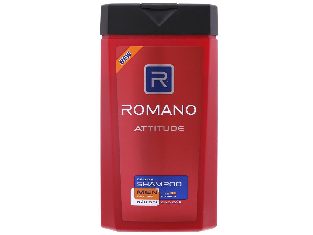 Dầu gội Romano Attitude hương nước hoa nồng ấm 380g 2