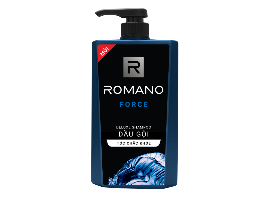Dầu gội cao cấp Romano Force 650g 1