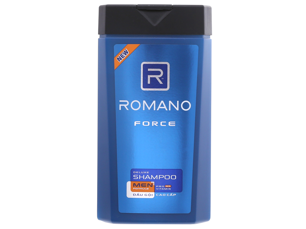 Dầu gội Romano Force hương nước hoa nam tính 380g 2