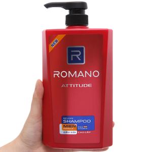 Dầu gội cao cấp Romano Attitude 650g